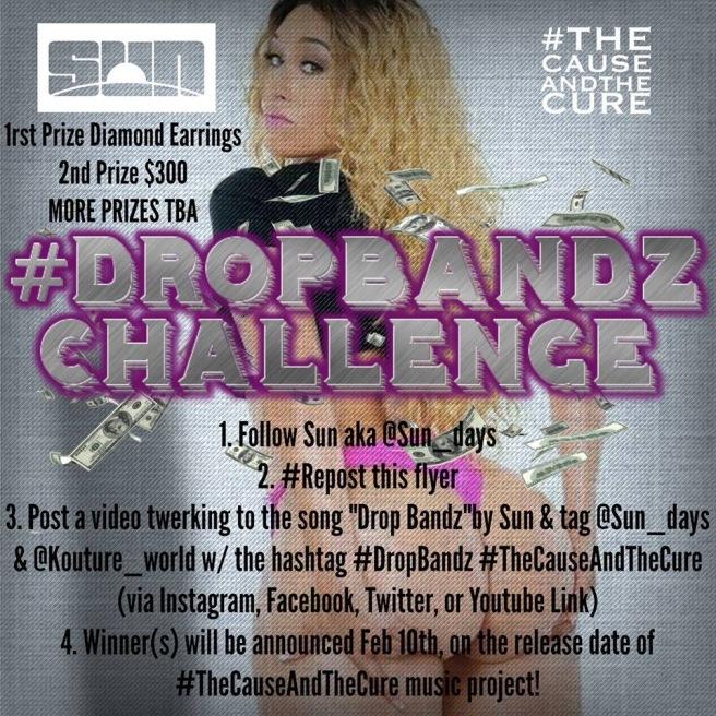 Drop Bandz contest art