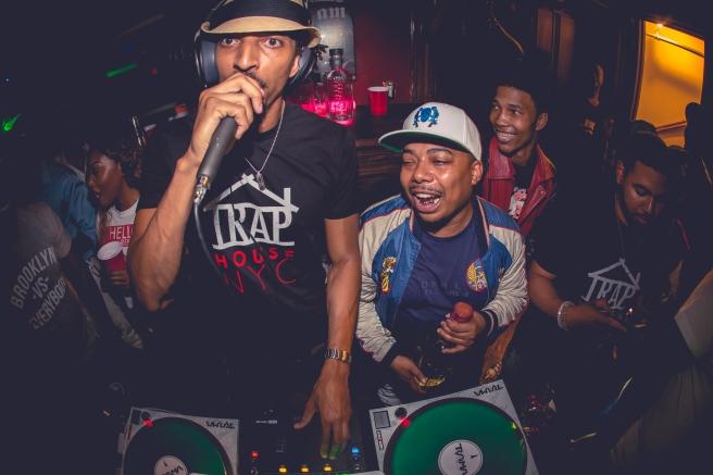 DJ Trauma and Manolo Rose